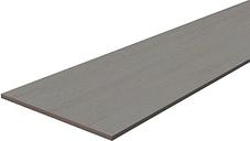 Grey Oak effect Fully edged Chipboard Furniture board  (L)1.2m (W)300mm (T)18mm