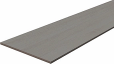 Grey Oak effect Fully edged Chipboard Furniture board  (L)0.8m (W)300mm (T)18mm
