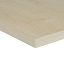 Maple effect Fully edged Chipboard Furniture board  (L)0.8m (W)400mm (T)18mm