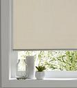 Ilas Corded Cream Plain Blackout Roller Blind (W)160cm (L)180cm