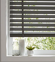 Lone Grey Woodgrain effect Polyvinyl chloride (PVC) Venetian Blind (W)180cm (L)180cm