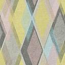 As Creation Pop colours Multicolour Geometric 3D effect Textured Wallpaper