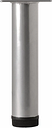 Rothley (H)100mm Painted Silver Furniture leg