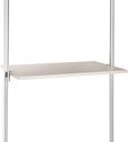 Relax Cream linen effect Shelf kit (W)900mm (D)500mm
