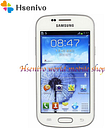 "Samsung S7568 cell phone Android 4GB ROM Wifi GPS Quad Core 4.0"" touch screen mobile phone"