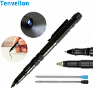 Military Survival Tactical Pen Self Defense Supplies Flashlight Writing Tool EDC defensa personal Cut Camping Survival
