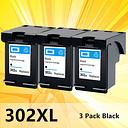 Black 302XL ink cartridge for HP 302 XL for hp302 For HP Deskjet 2130 2135 1110 3630 3632 Officejet 3830 3834 4650 printer