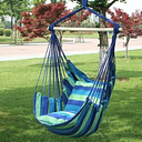 Canvas Bedroom Hanging Hammock Chair Indoor Swing Chair for Adults Kids Portable Outdoor Camping Garden Swing With 2 Pillows