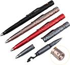 Multi Function Tactical Pen Emergency Window Breaker Flashlight/Bottle Opener/Wrench/Screwdriver Outdoor Survival EDC Tool