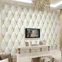 Papel tapiz De foto personalizado estilo europeo, De lujo, estéreo 3D, oro, cristal, rombo, empalme,