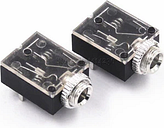 Hot sale 5 Pin 3.5mm Stereo Audio Jack Socket PCB Panel Mount for Headphone With Nut PJ-324M