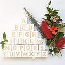C Nordic Style Wooden Alphabet Letters Baby Name Blocks For Nursery Bedroom Photo Shoot Decor Newborn Keepsake Gift White Black