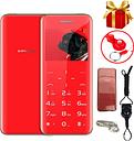 "F2 Super Mini Plus Mobile Phone 2.31"" Ultrathin Credit Card Metal Body Bluetooth Mp3 Dual SIM Card Luxury Touch button Cellphone"