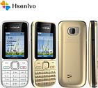 "Nokia C2-01 refurbished-Original Nokia C2-01 Unlocked Mobile Phone 2.0"" 3.2MP Bluetooth GSM/WCDMA 3G Phone Free Shipping"