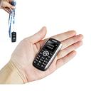 Mini Bluetooth Dialer Magic Voice One Key Recorder Celular Dual Sim Dual Standby Small Mobile Phone Russian Language