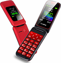 3G WCDMA GSM Unlock Flip Senior Feature Mobile Phone Dual Display SOS Quick Call DV Large For Old People Russian Key