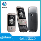 Nokia 2220s Refurbished mobile phones original slide Mobile Phones Unlocked Cheap cell phones mp3 player Fast delivery