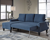 Jarreau Sofa Chaise Sleeper, Blue