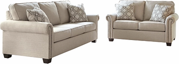 Farouh Sofa and Loveseat, Ash