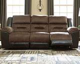 Earhart Reclining Sofa, Chestnut