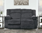 Burkner Power Reclining Loveseat, Marine