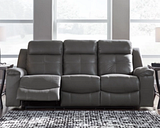 Jesolo Reclining Sofa, Dark Gray