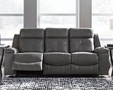 Jesolo Reclining Sofa, Dark Gray