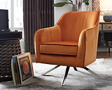 Hangar Accent Chair, Rust