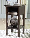 Marnville Accent Table, Dark Brown