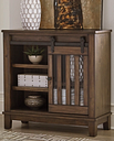 Brookport Accent Cabinet, Brown