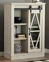 Bronfield Accent Cabinet, White