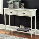 Goverton Sofa/Console Table, White