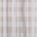 Buffalo Plaid Shower Curtain, Khaki