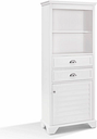 Tall Organizer Cabinet, White