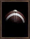 Giclee Football Wall Art, Blue/Brown