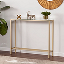 Home Accent Wersham Console Table, Metallic