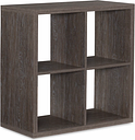 Four Cube Gwen Storage Shelf, Ash Gray