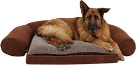Ortho Medium Sleeper Comfort Couch® Pet Bed, Chocolate