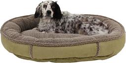 Berber Medium Round Comfy Cup® Pet Bed, Sage
