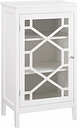 Fetti Single Door Cabinet, White