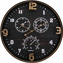 Home Accents Wall Clock, Black