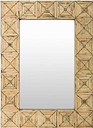 "Ilene Bamboo 26"" x 36"" Mirror, Natural"