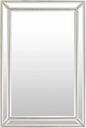 """Pemberton Pemberton 47"""" x 32"""" Mirror, Silver"""