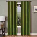 "Pomo 96"" Jacquard Panel Curtain, Olive"