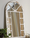 Divakar Accent Mirror, Antique White