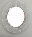 Marly Accent Mirror, Clear/Silver Finish