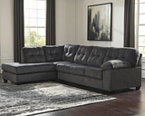 Accrington 2-Piece Sectional with Chaise, Granite