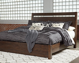 Starmore King Panel Bed, Brown
