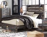 Drystan Queen Panel Bed, Multi