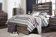 Drystan Full Panel Bed, Multi
